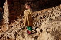 petite fille roche