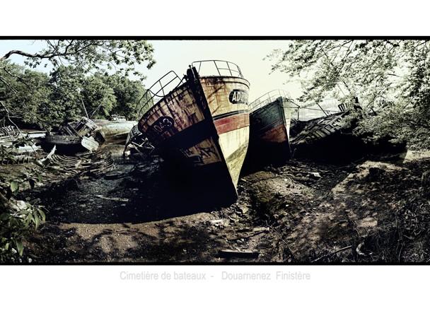 Cimetière de bateaux – Douarnenez – Bretagne 2