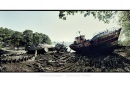 Cimetière de bateaux Douarnenez – Bretagne