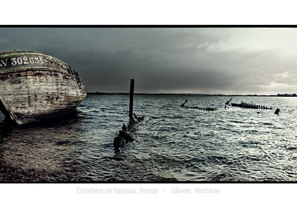 Cimetière de bateaux thonier Gâvres – Morbihan
