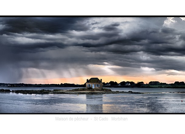 Maison de pêcheur St Cado – Morbihan – Bretagne